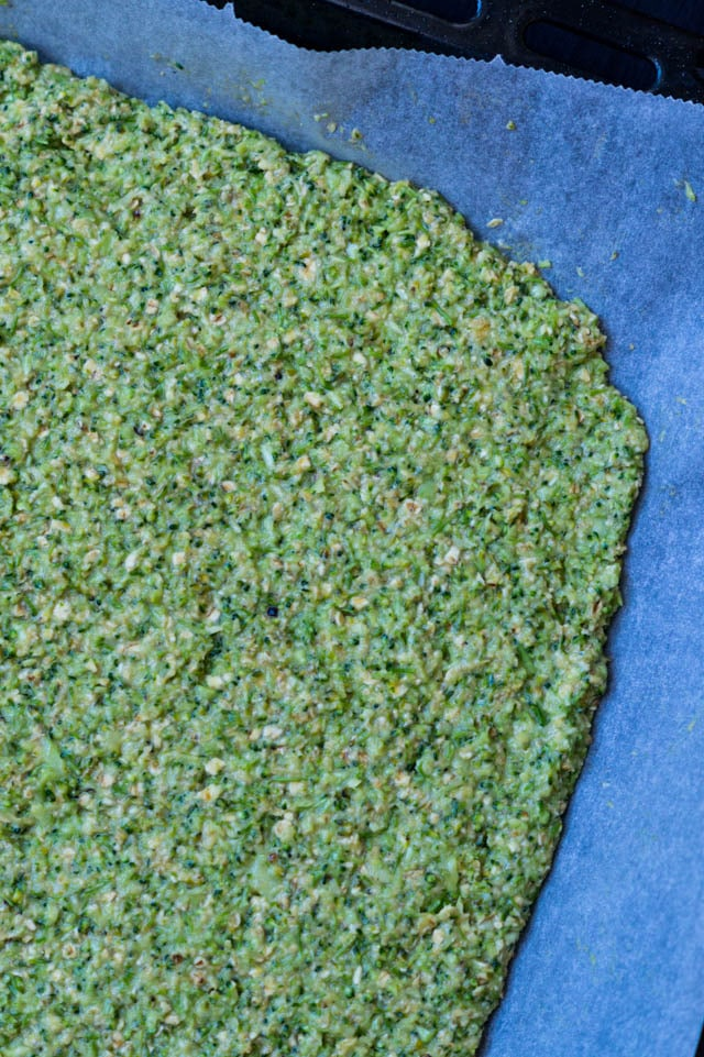 Broccoli fladbrød