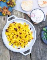 Indiske gule ris – tilbehør til indisk curry
