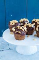 Sundere snickersmuffins