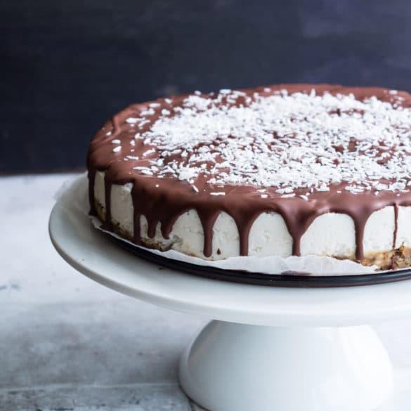 Sundere bountykage – sundere kage med kokos og chokolade