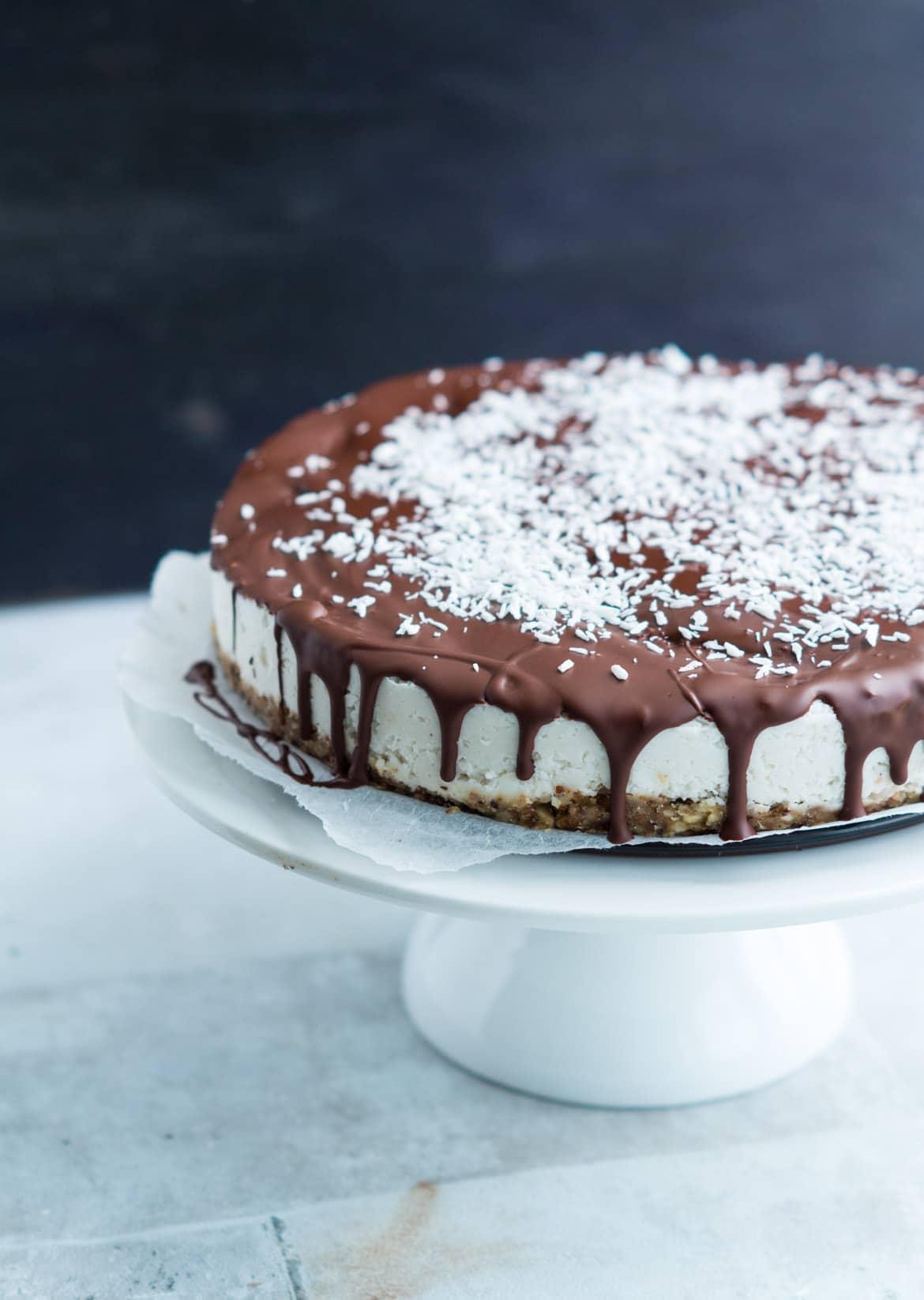 Sundere bountykage - sundere kage med kokos og chokolade