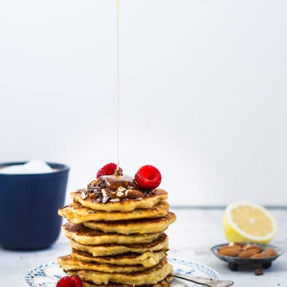 Skønne klatkager med citron (mælkefri)