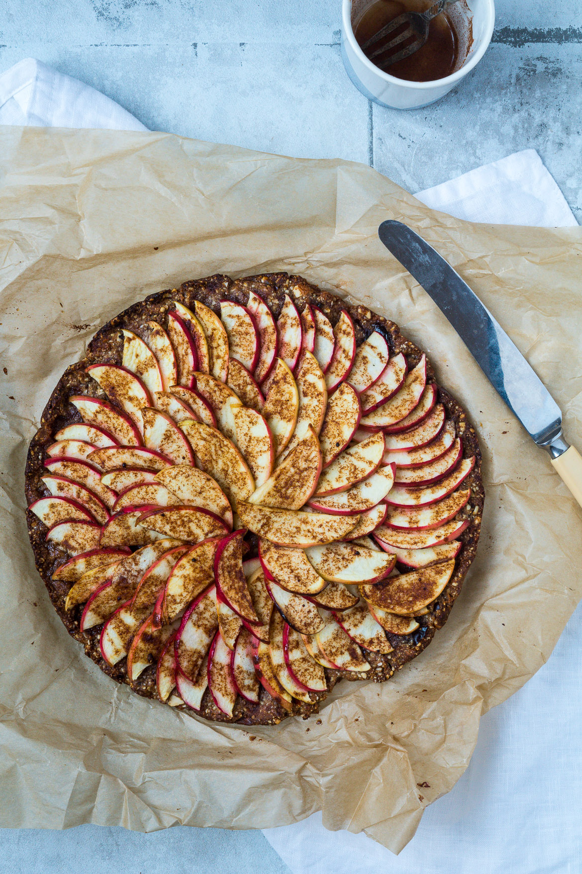 Sundere æbletærte