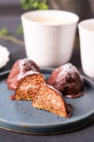Små Sarah Berhardt kager (glutenfri og mælkefri)