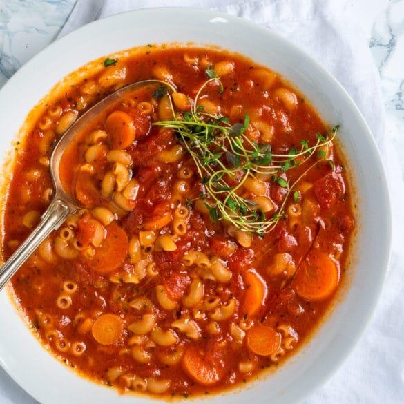 Vegetarisk madplan uge 10