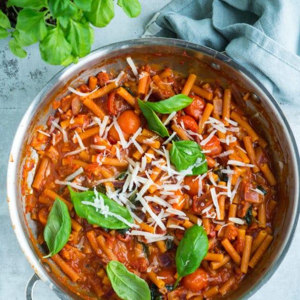 Vegetarisk madplan uge 8