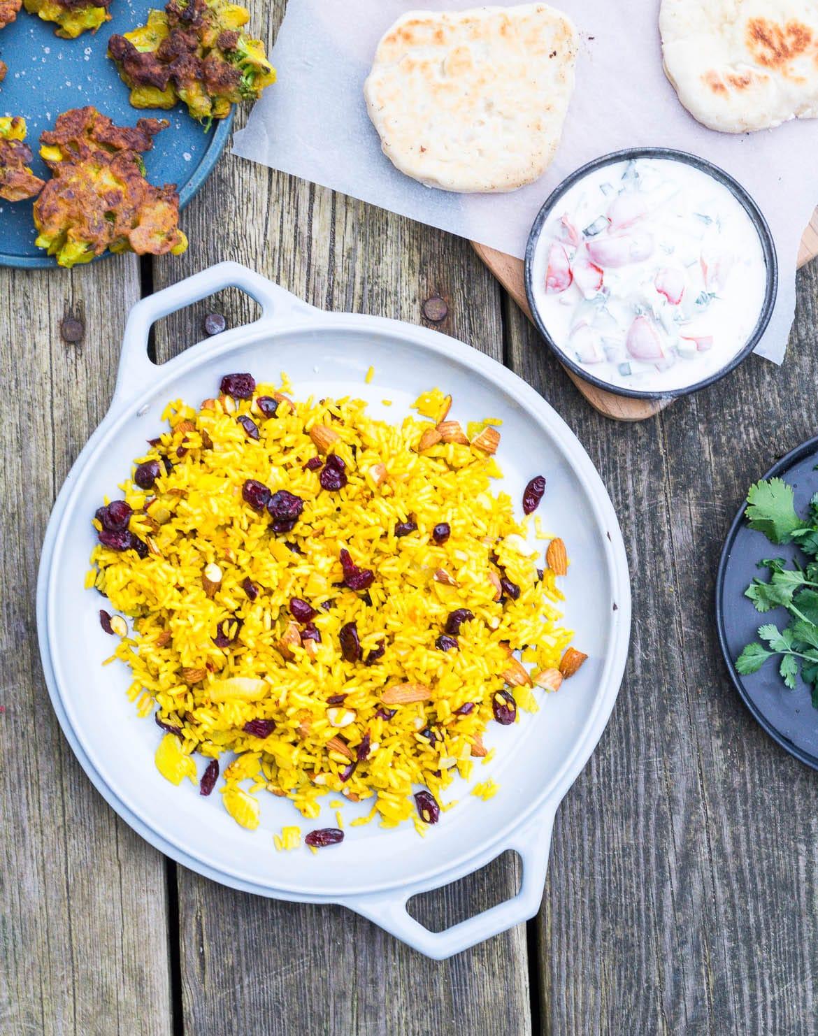 indiske vegetarretter