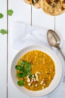 Mulligatawny – vegansk indisk suppe