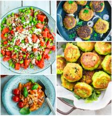Vegetarisk madplan uge 31