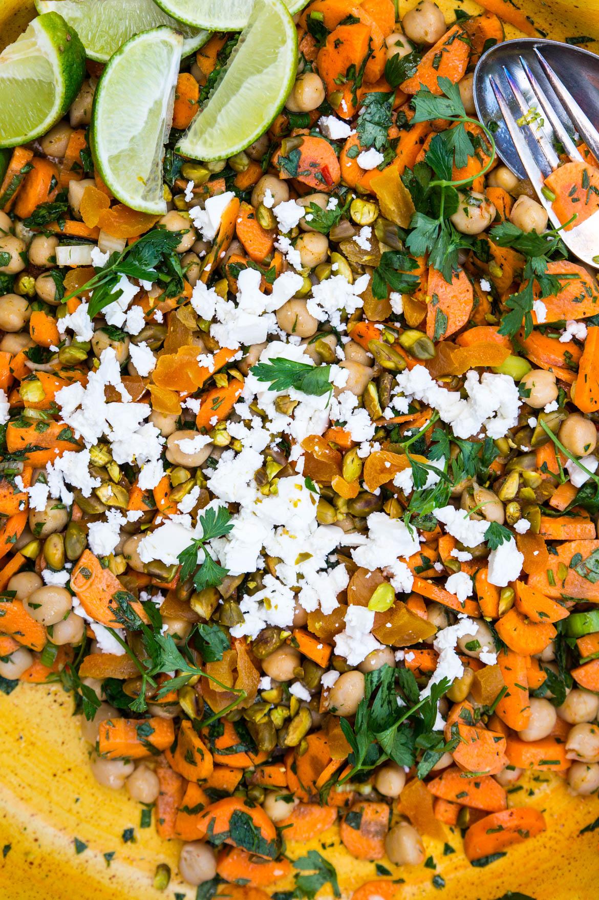 Marrokansk gulerodssalat