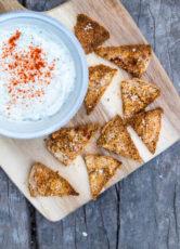Pitachips – knasende sprøde chips af pitabrød
