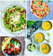 Vegetarisk madplan uge 32