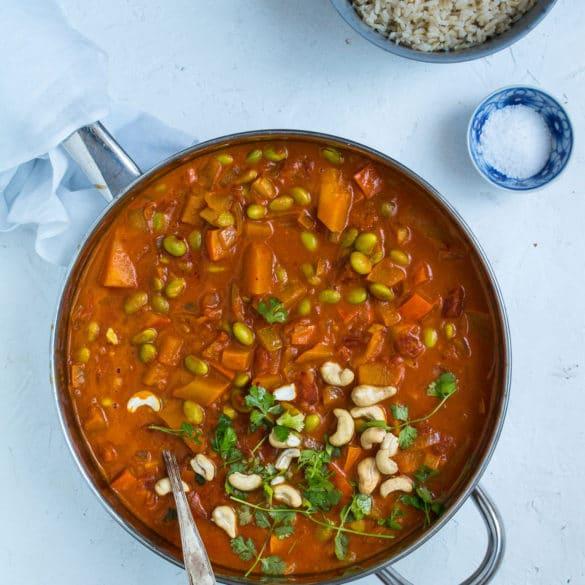Græskar curry – karryret med græskar og kokosmælk