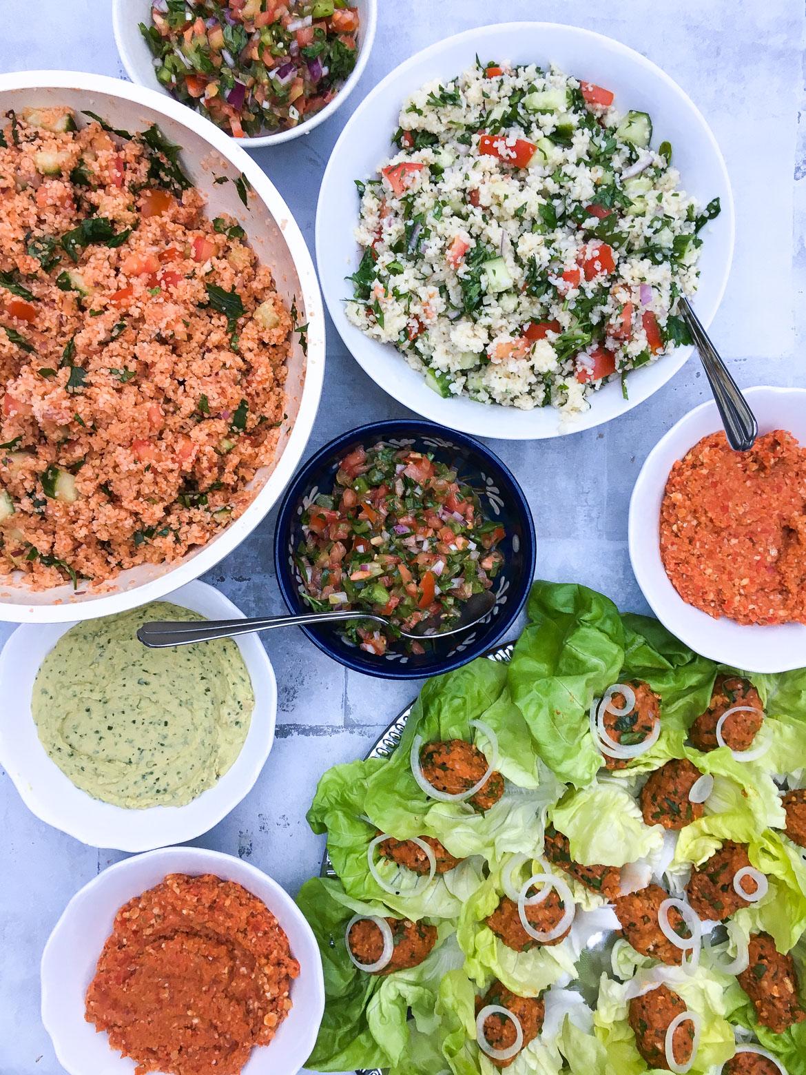 Tyrkisk vegetarmad