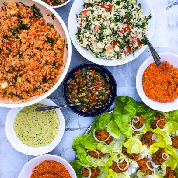 Tyrkisk middag - tyrkiske vegetarretter
