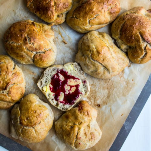 Juleboller med risengrød – risengrødsboller