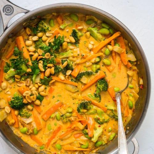 Vegetarisk madplan uge 48