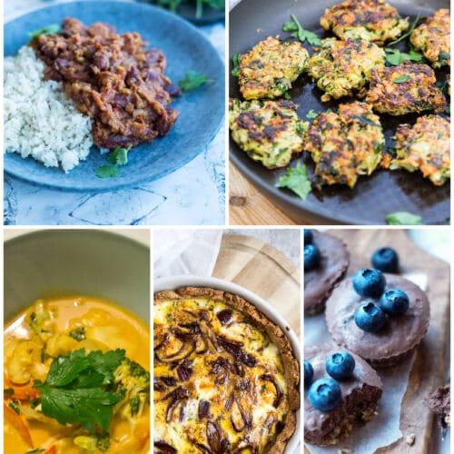 Vegetarisk madplan uge 12