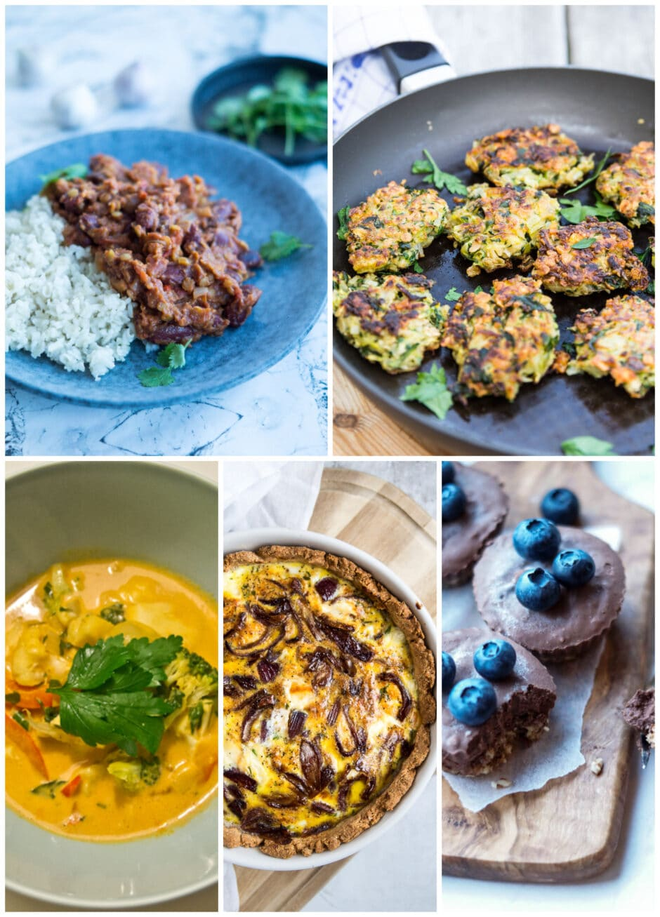 Vegetarisk madplan