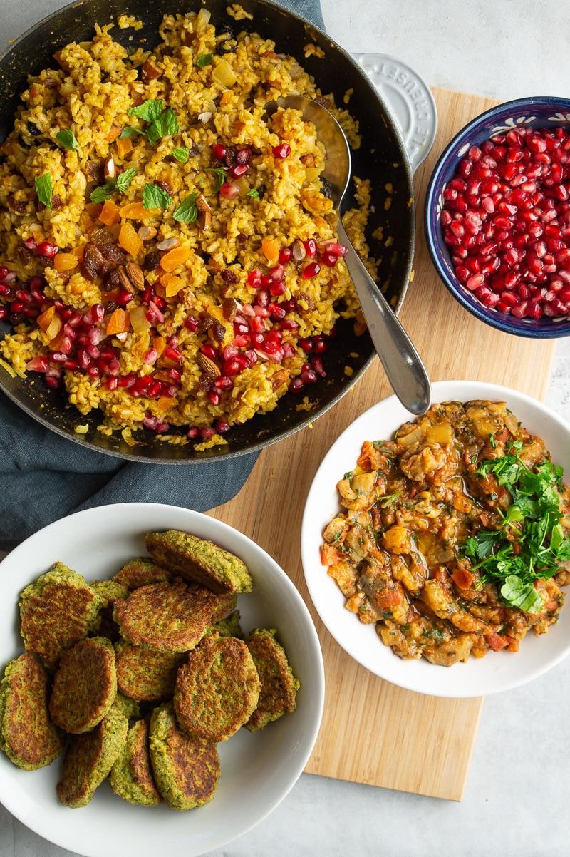 Marrokansk vegetarmad