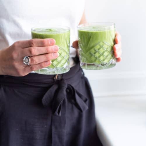 Greenie med grønkål