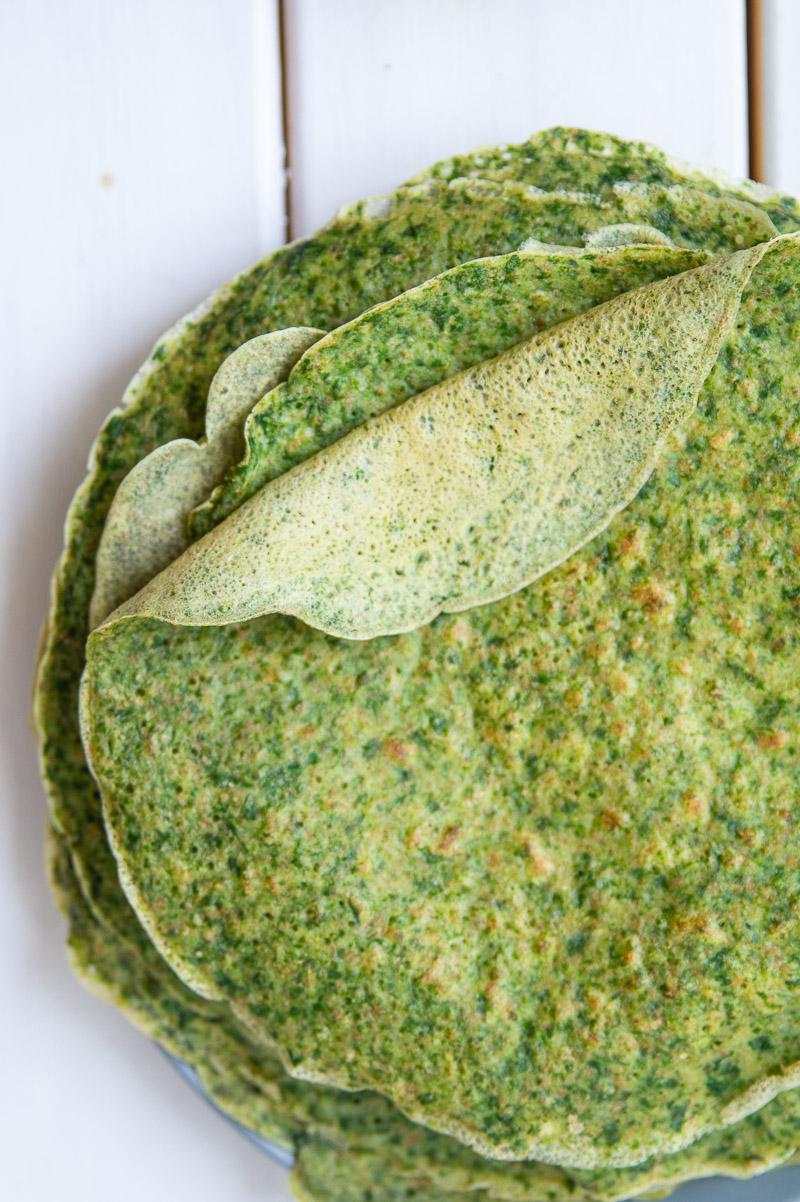 Spinatpandekager - madpandekager med spinat