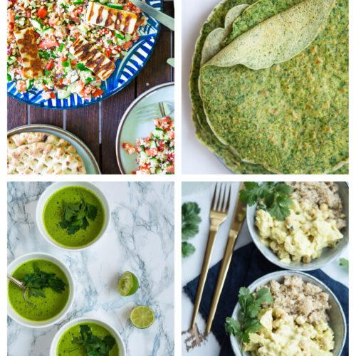 Vegetarisk madplan uge 27