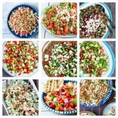 Sommersalater - opskrifter på 10 skønne sommersalater