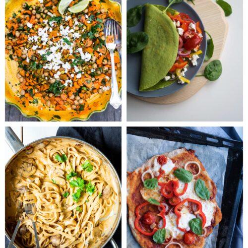 Vegetarisk madplan uge 29