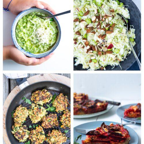 Vegetarisk madplan uge 9
