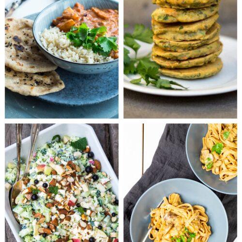 Vegetarisk madplan uge 33