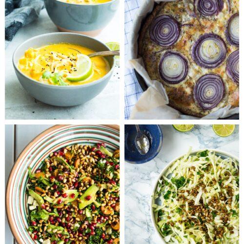 Vegetarisk madplan uge 34