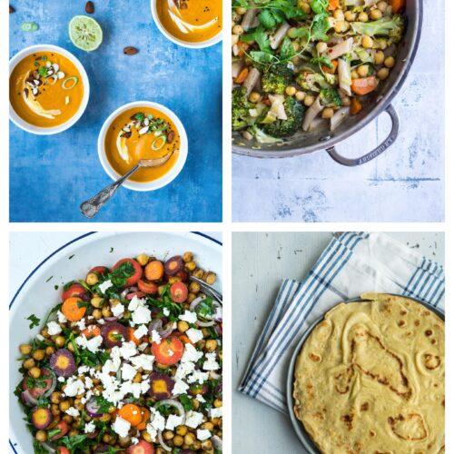 Vegetarisk madplan uge 35