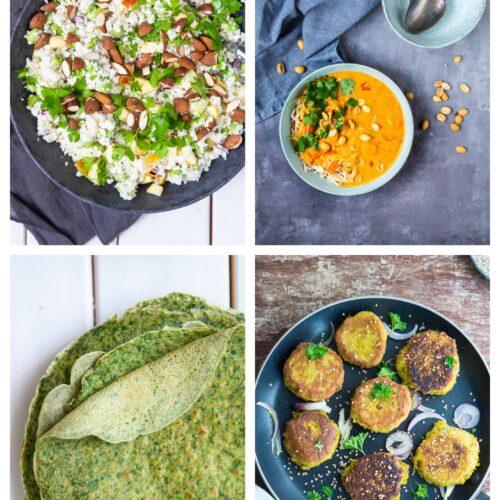 Vegetarisk madplan uge 40