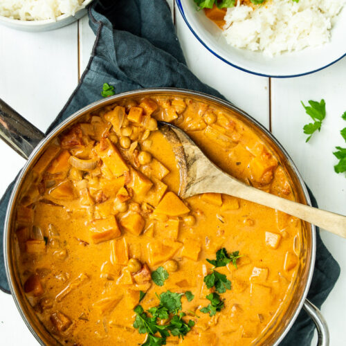 Vegetarisk butter chicken