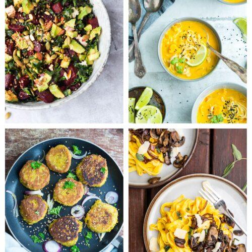 Vegetarisk madplan uge 42