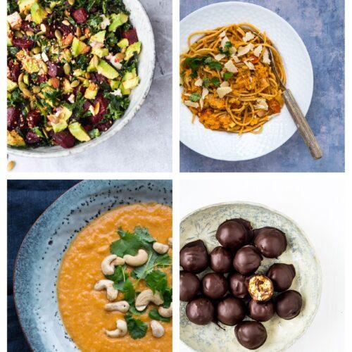 Vegetarisk madplan uge 46