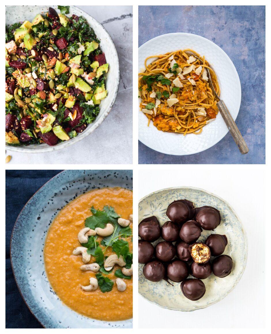 Vegetarisk madplan uge 20