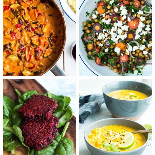 Vegetarisk madplan uge 50