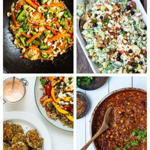 Vegetarisk madplan uge 2