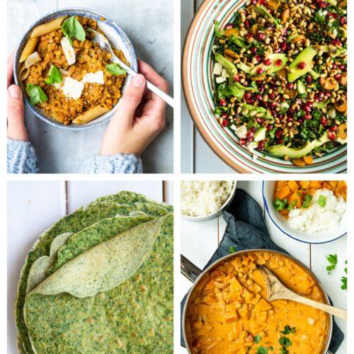 Vegetarisk madplan uge 3