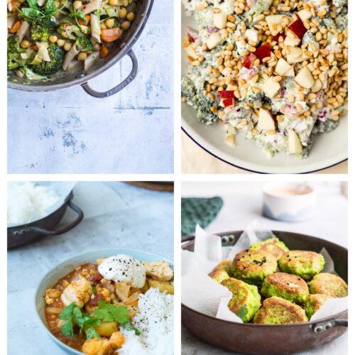 Vegetarisk madplan uge 4