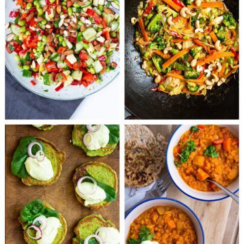 Vegetarisk madplan uge 19