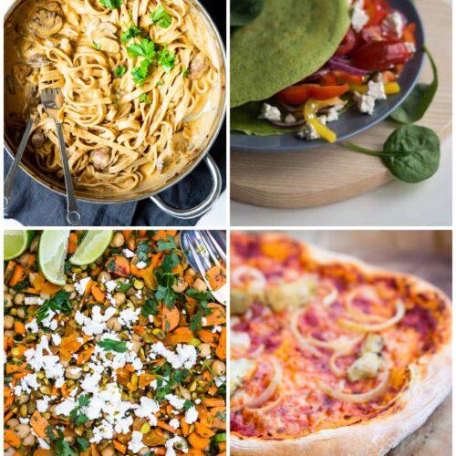 Vegetarisk madplan uge 23