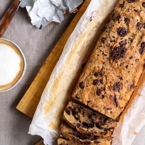 Sundt bananbrød - sundere bananbrød med groft mel