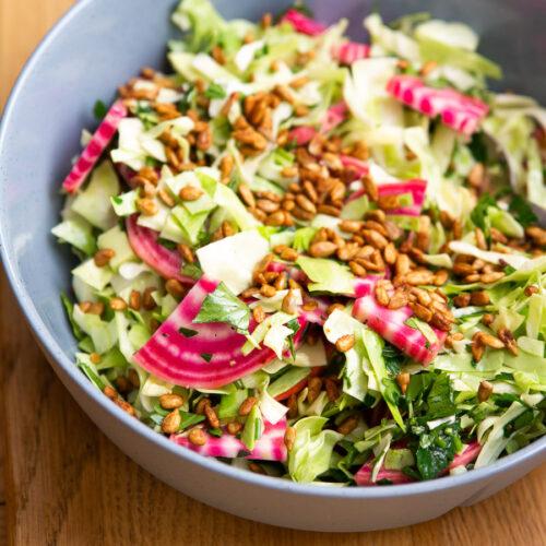 Salat med bolsjebeder