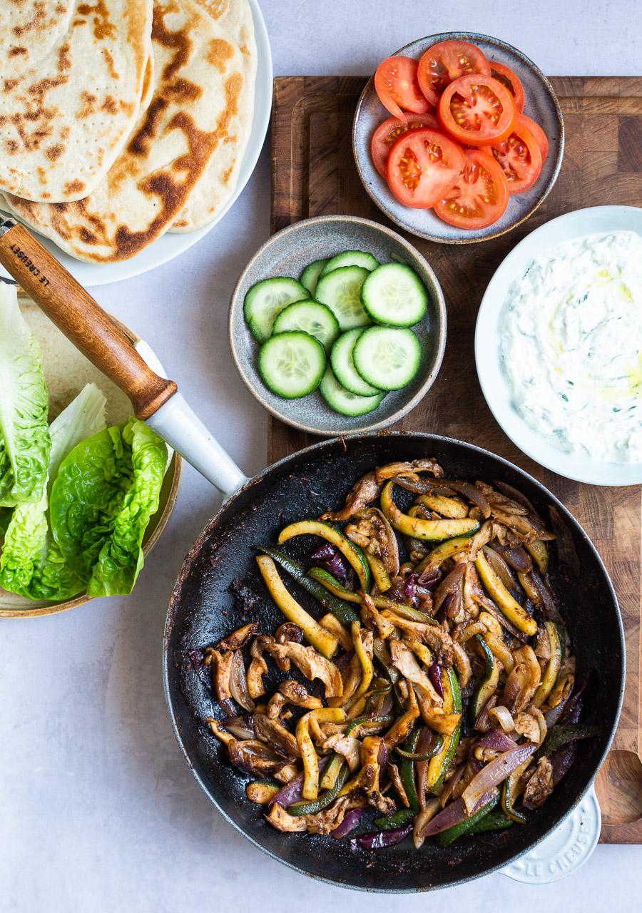 Vegetarisk gyros