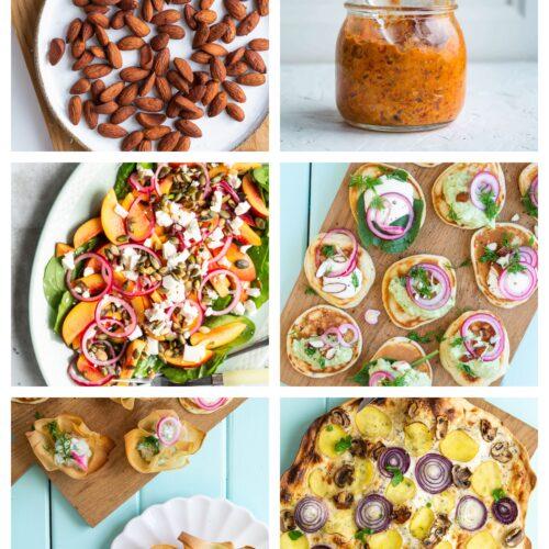Vegetarisk påskefrokost