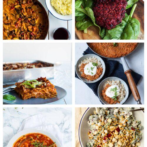 Vegetarisk madplan uge 17