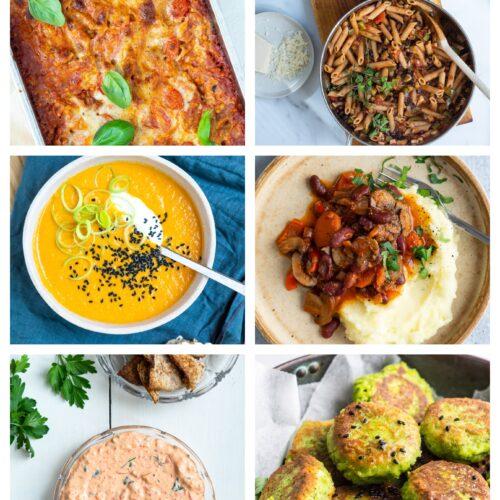 Vegetarisk madplan uge 18